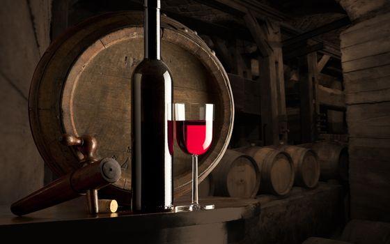Photo free wine, red, glass
