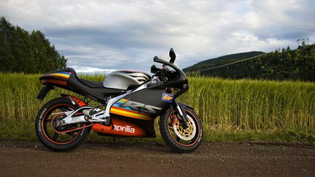 Photo free Aprilia, sportbike, protection