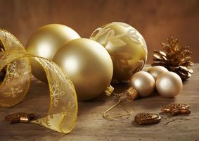 Фото бесплатно фон, элементы, новогодние украшения