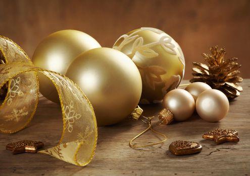 Photo free background, elements, Christmas decorations