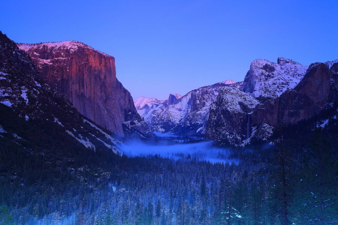 Фото бесплатно Yosemite National Park, California, USA - на рабочий стол