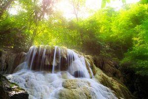 Бесплатные фото Канчанабури,Таиланд,водопад,каскад,джунгли,река,деревья