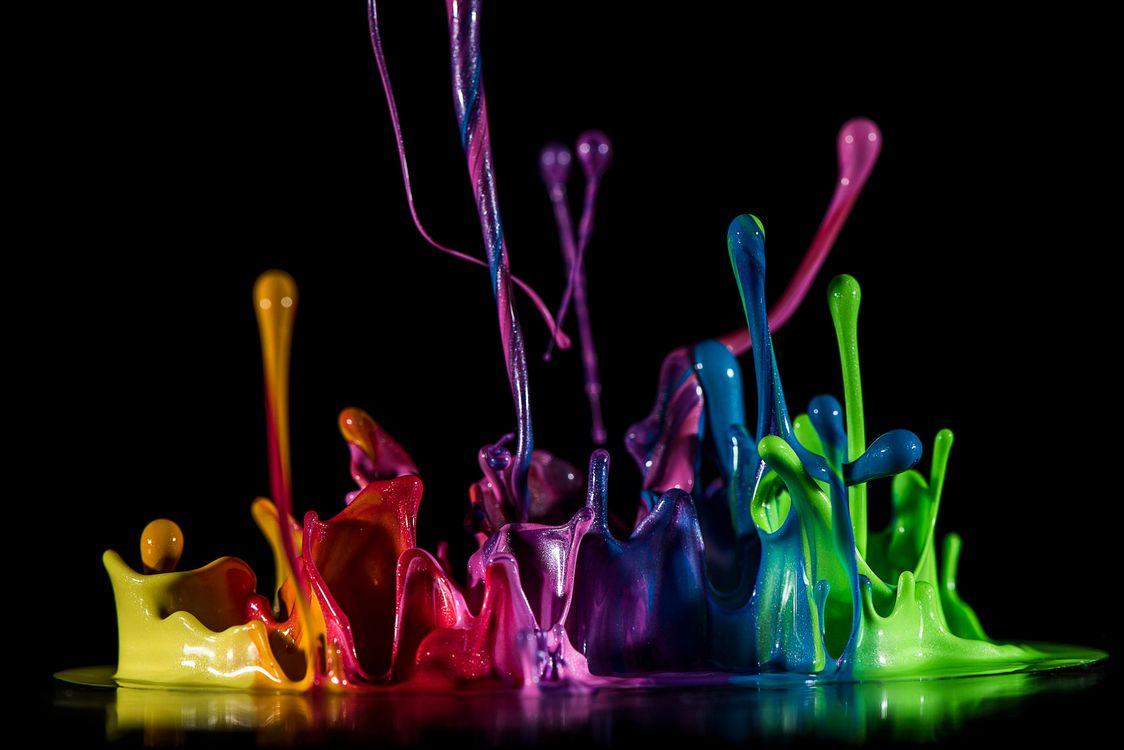 Акварельные краски · бесплатное фото