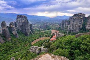 Фото бесплатно Греция, скалы, горы