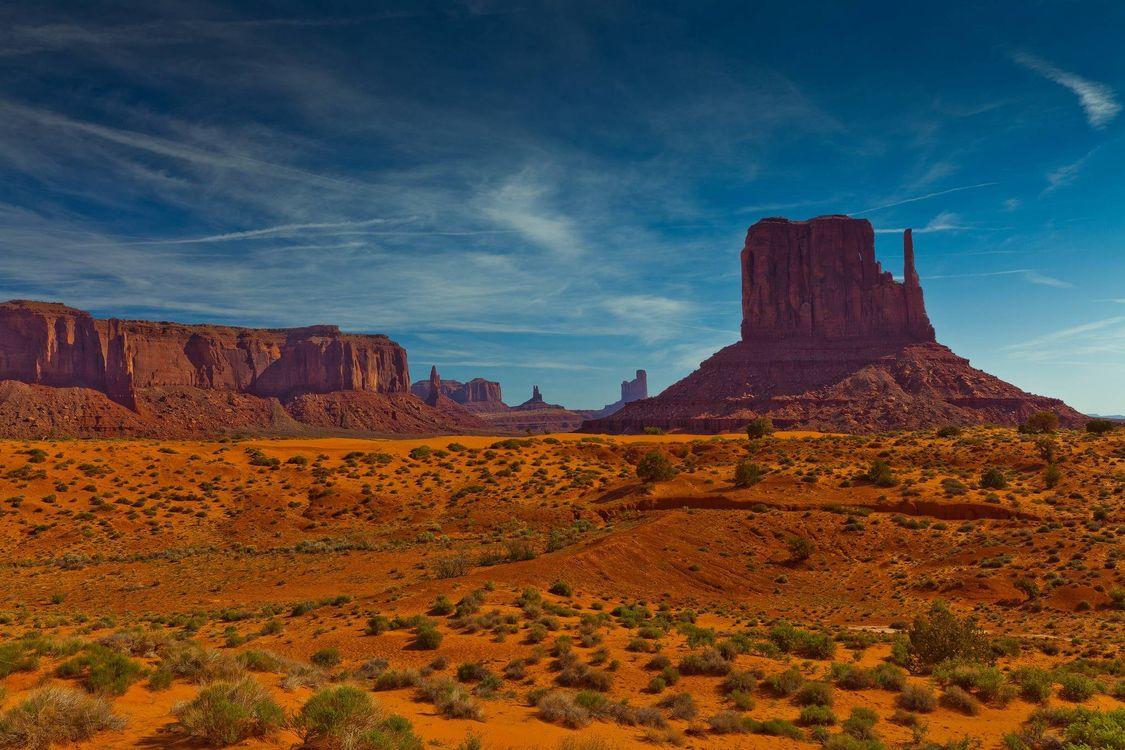 Фото бесплатно Monument Valley, Utah, горы - на рабочий стол