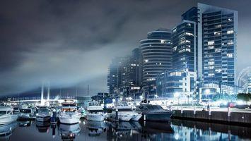 Бесплатные фото море,порт,яхты,лодки,набережная,дома,здания