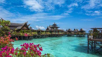 Photo free Mabul Island, Pulau Mabul, Malaysia