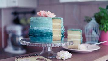 Photo free cake plate