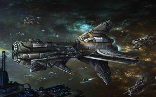Фото бесплатно космический корабль, звездные войны
