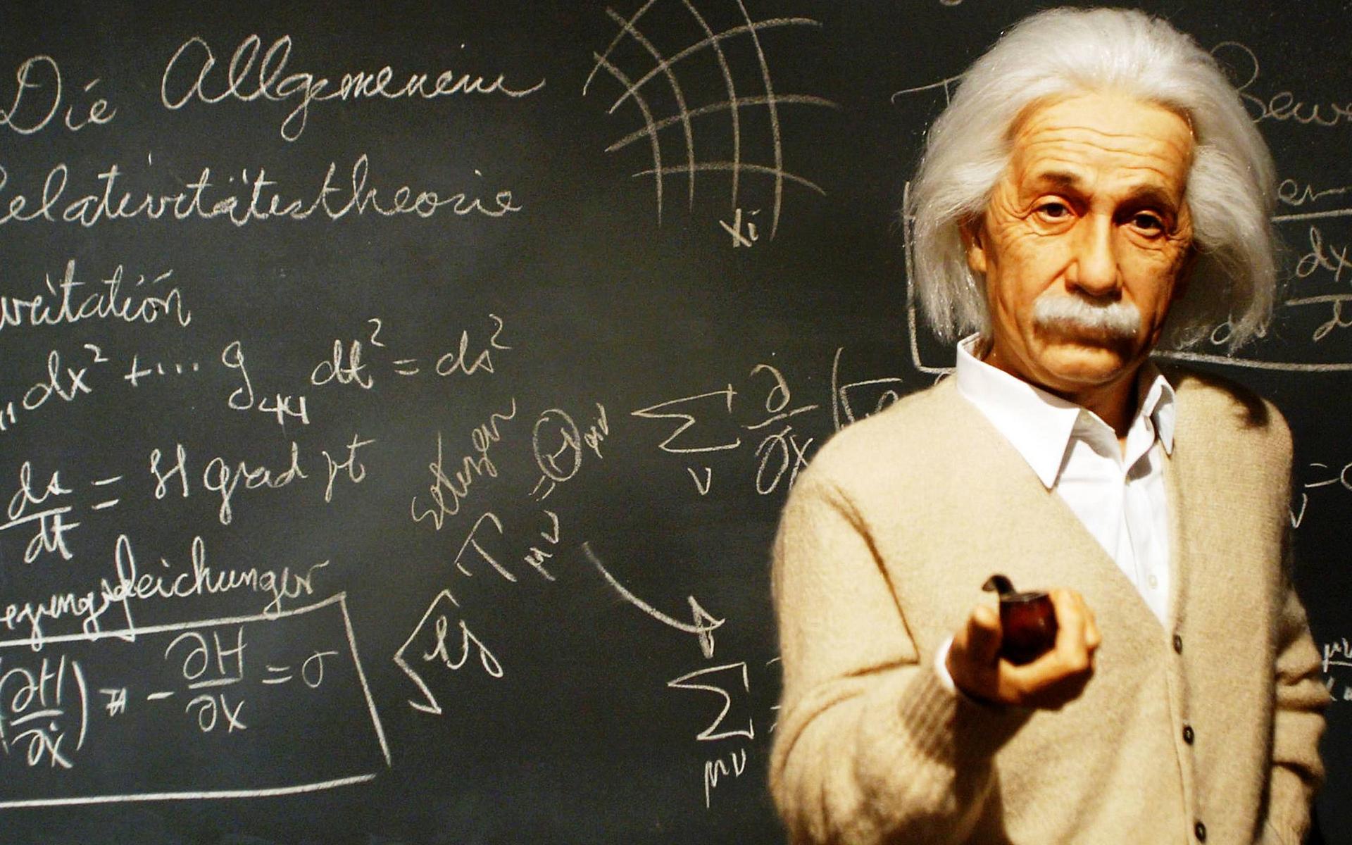 Обои Альберт Эйнштейн, физик, ученый, усы