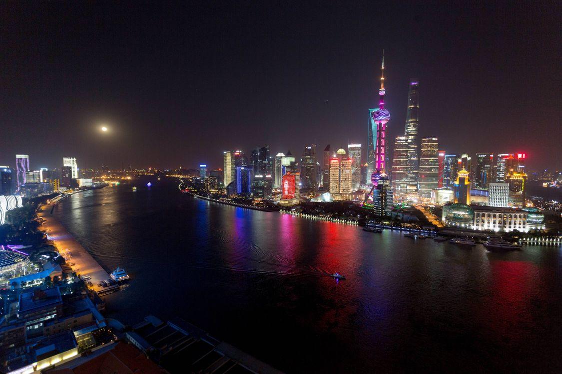 Обои Шанхай, Китай, Shanghai, China на телефон | картинки город