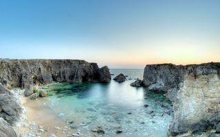 Фото бесплатно берег, скалы, камни