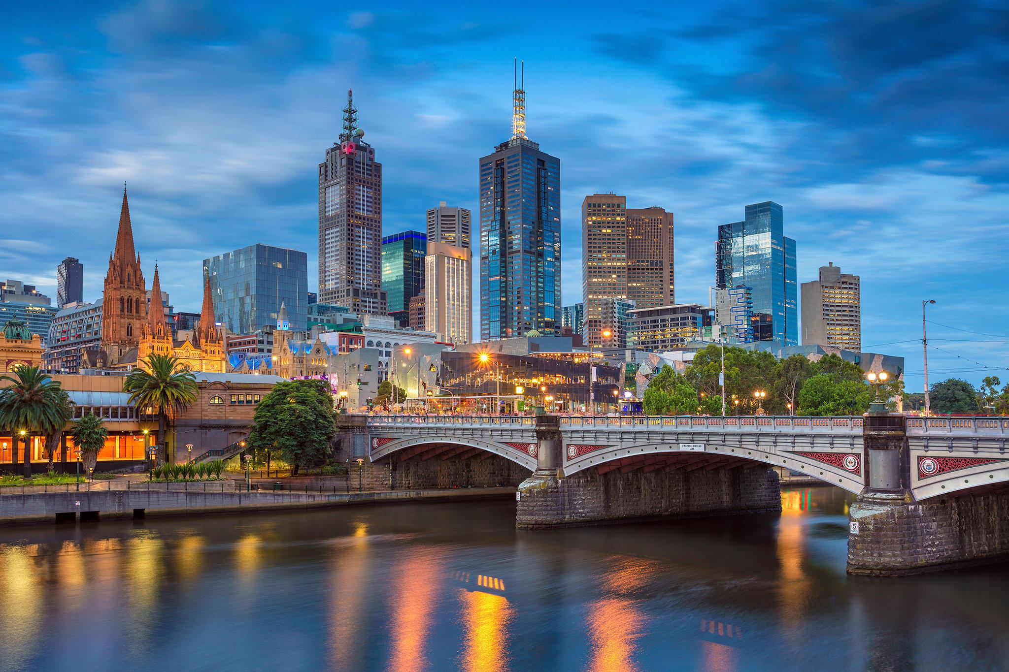 Oboi Melburn Avstraliya Gorod Kartinki Na Telefon