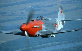 Фото бесплатно самолет, истребитель старинный, кабина