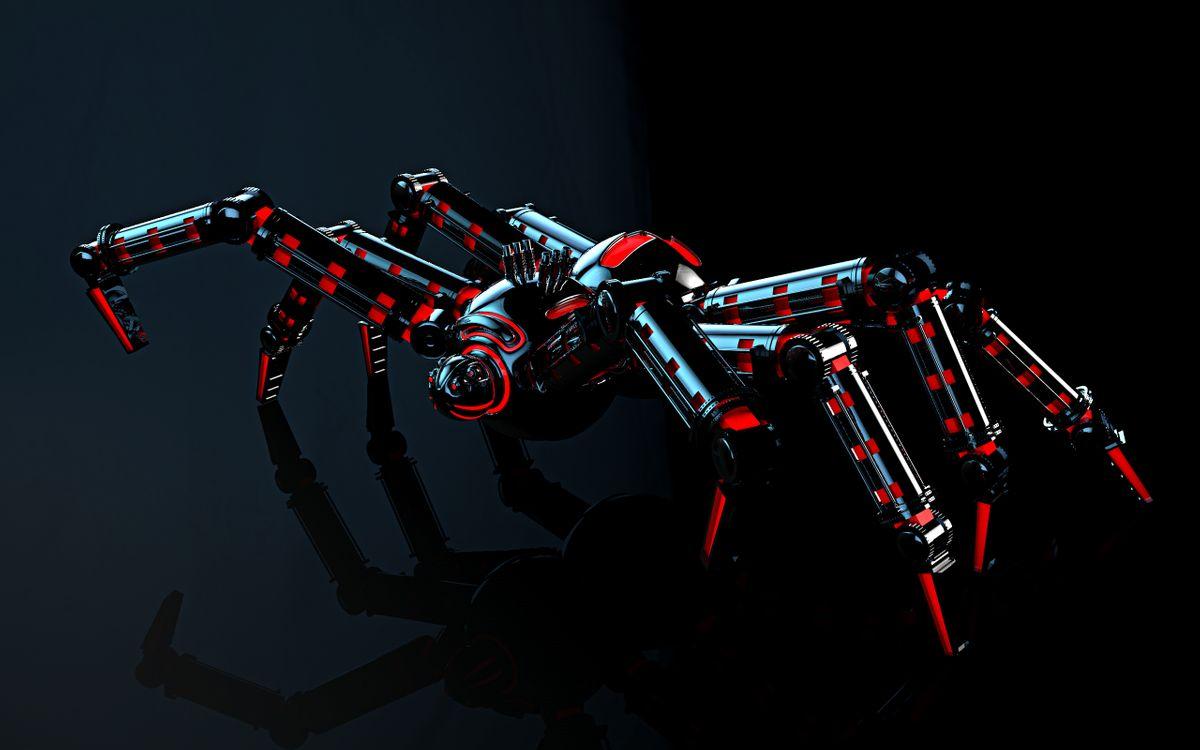 Фото паук механический технологии - бесплатные картинки на Fonwall