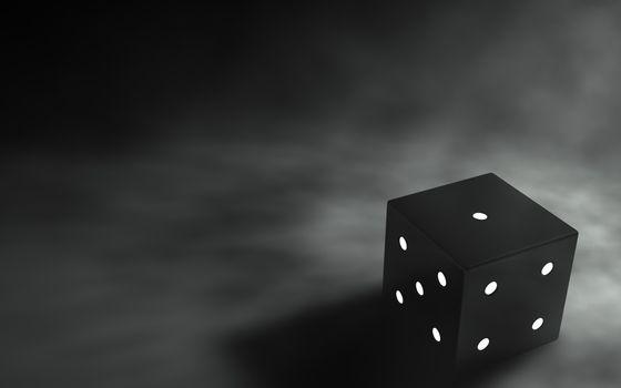 Бесплатные фото кубик,3d,графика,черный,серый фон,3d графика
