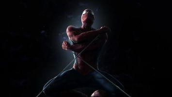 Фото бесплатно человек паук, мультфильм, кино