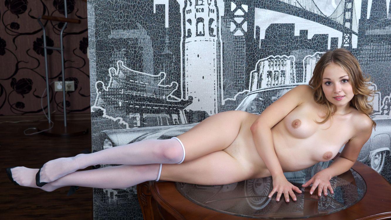 Фото бесплатно девушка, блондинка, груди - на рабочий стол