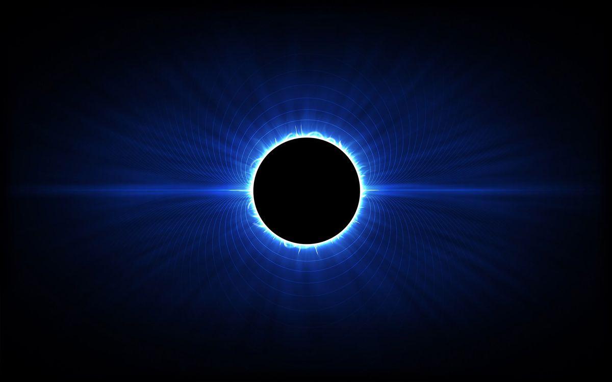 Фото бесплатно круг, черный, линии - на рабочий стол