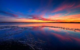 Бесплатные фото море, вода, небо, деревья, свет, зарево, девушки