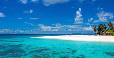 Фото бесплатно Мальдивы, пейзажи, остров