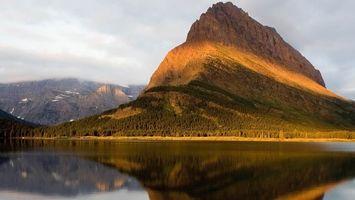 Фото бесплатно вода, горы, лес
