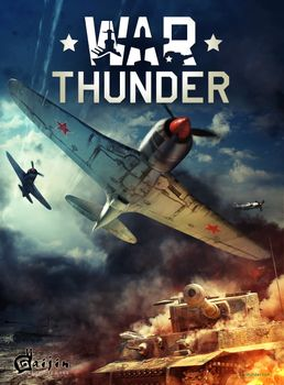 Фото бесплатно war thunder, игра, самолеты