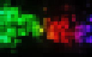 Фото бесплатно пиксели, абстракция, узоры