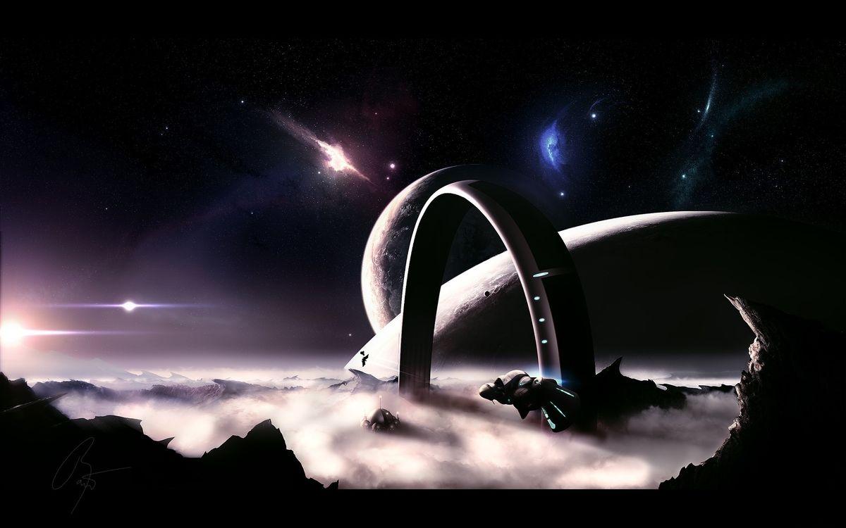 Фото бесплатно новые миры, галактика, корабли - на рабочий стол