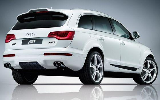 Photo free Audi, crossover, white
