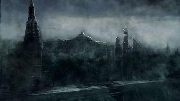 Бесплатные фото дома,улицы,тьма,тучи,небо,хмурость,крыши