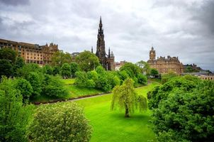 Photo free Edinburgh, Edinburgh castle, Scotland