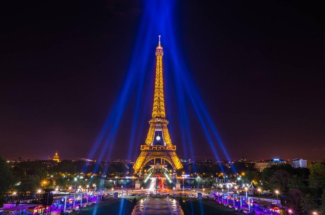 Фото бесплатно Eiffel Tower, Paris, France, Эйфелева башня, Париж, Франция, город - скачать на рабочий стол