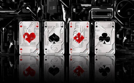Photo free cards, hearts, peaks