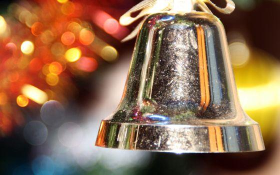 Фото бесплатно колокольчик, металл, блеск