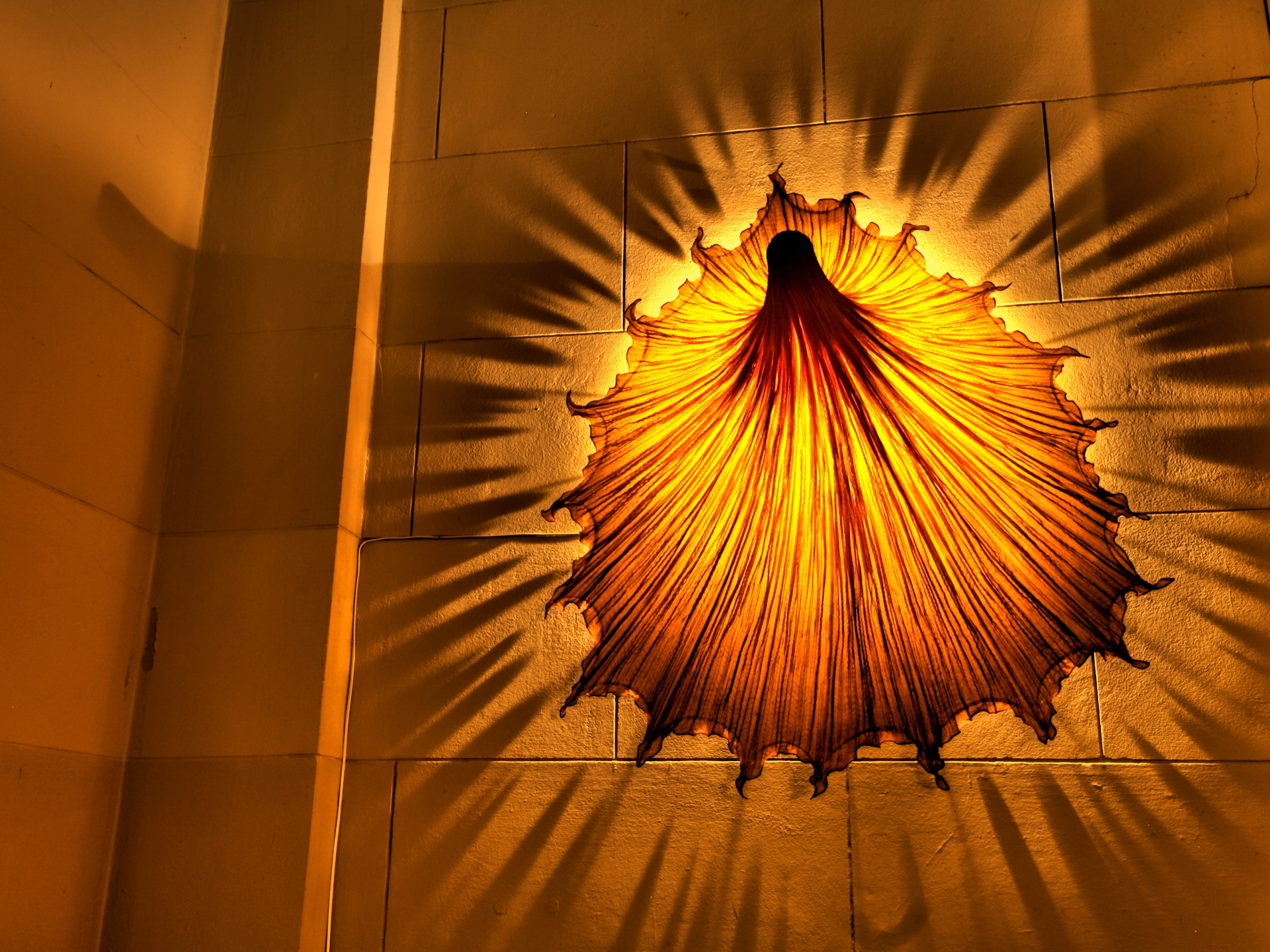 лампа, светильник, свет