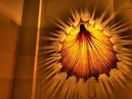 Бесплатные фото лампа,светильник,свет,огни,бра,стена,камни