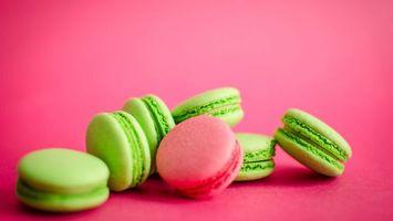 Бесплатные фото печенье,зеленый,салатовый,сладости