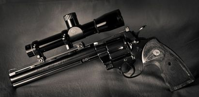 Photo free revolver, sight, trigger