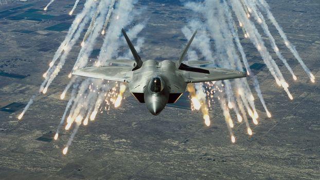 F 22 raptor · бесплатное фото
