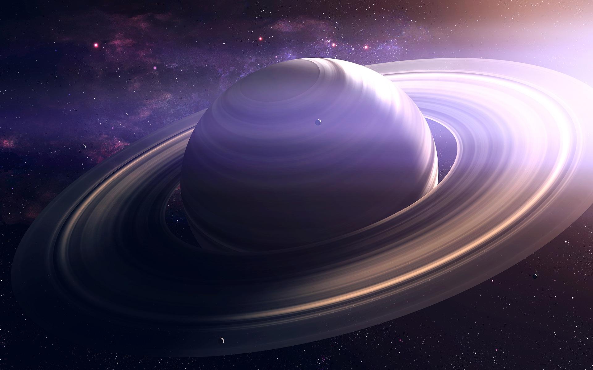 Большая фотография планеты сатурн
