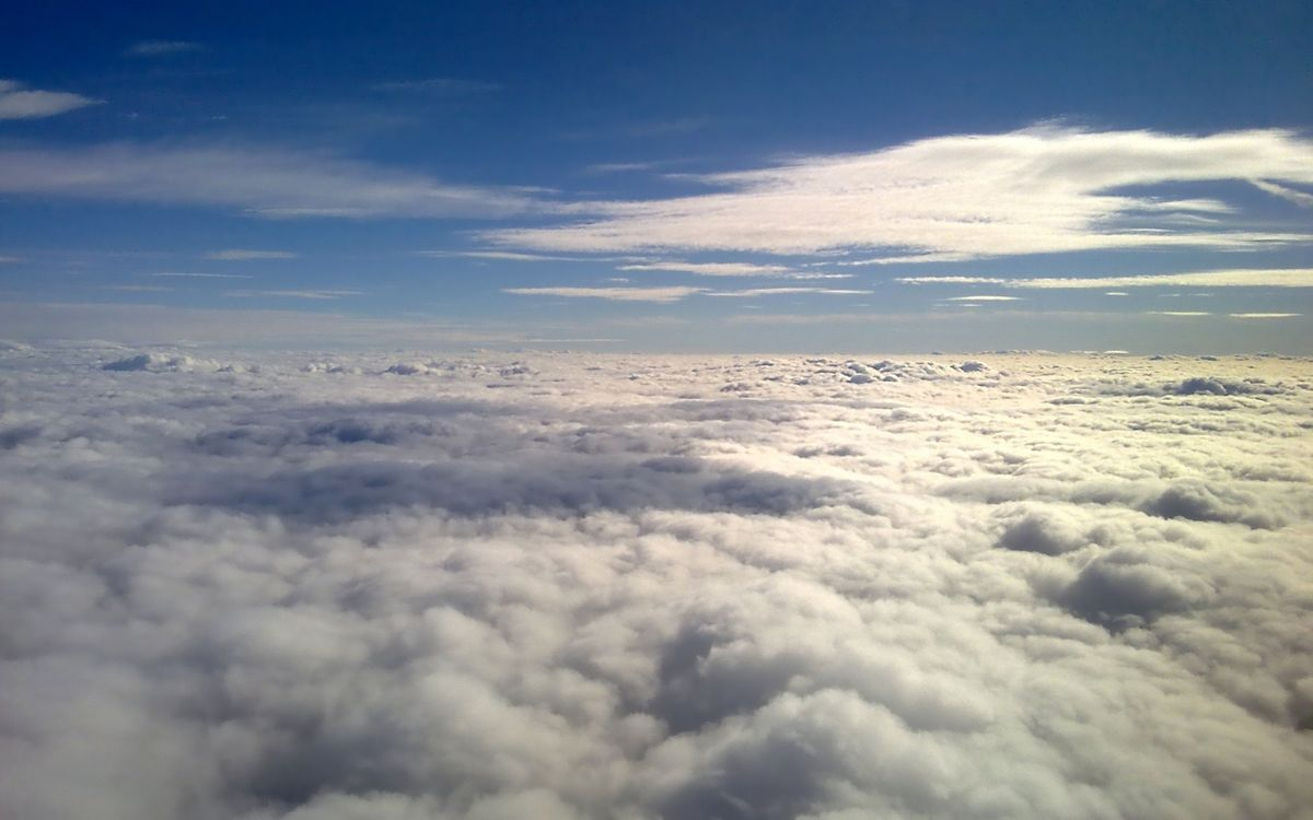Фото бесплатно вид, облака, небо - на рабочий стол