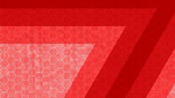 Фото бесплатно заставка, обои, картинка, цвет, красный, соты, ромбики, линии, абстракции