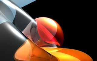 Photo free wallpaper, abstraction, orange