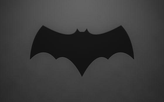 Бесплатные фото минимализм,sign,2560x1600,minimalism,знак,batman