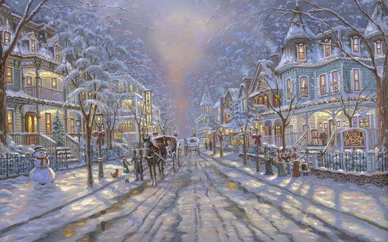 Фото бесплатно christmas, decoration, winter