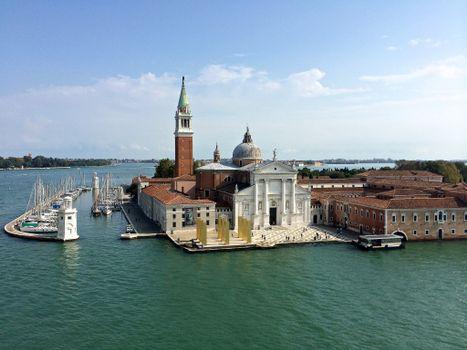 Фото бесплатно церковь Сан-Джорджо Маджоре, Венеция, Италия, church of San Giorgio Maggiore, Venice, Italy