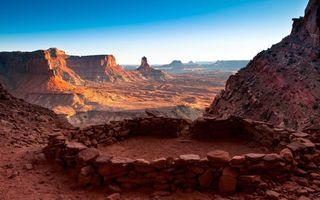 Бесплатные фото долина, каньон, красный, песчаный, камни, небо, природа