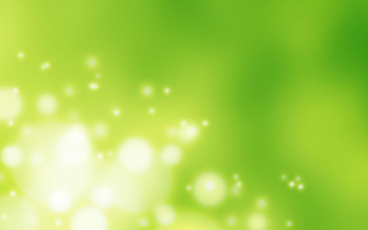 Фото бесплатно абстракция, огоньки, зеленый фон - на рабочий стол