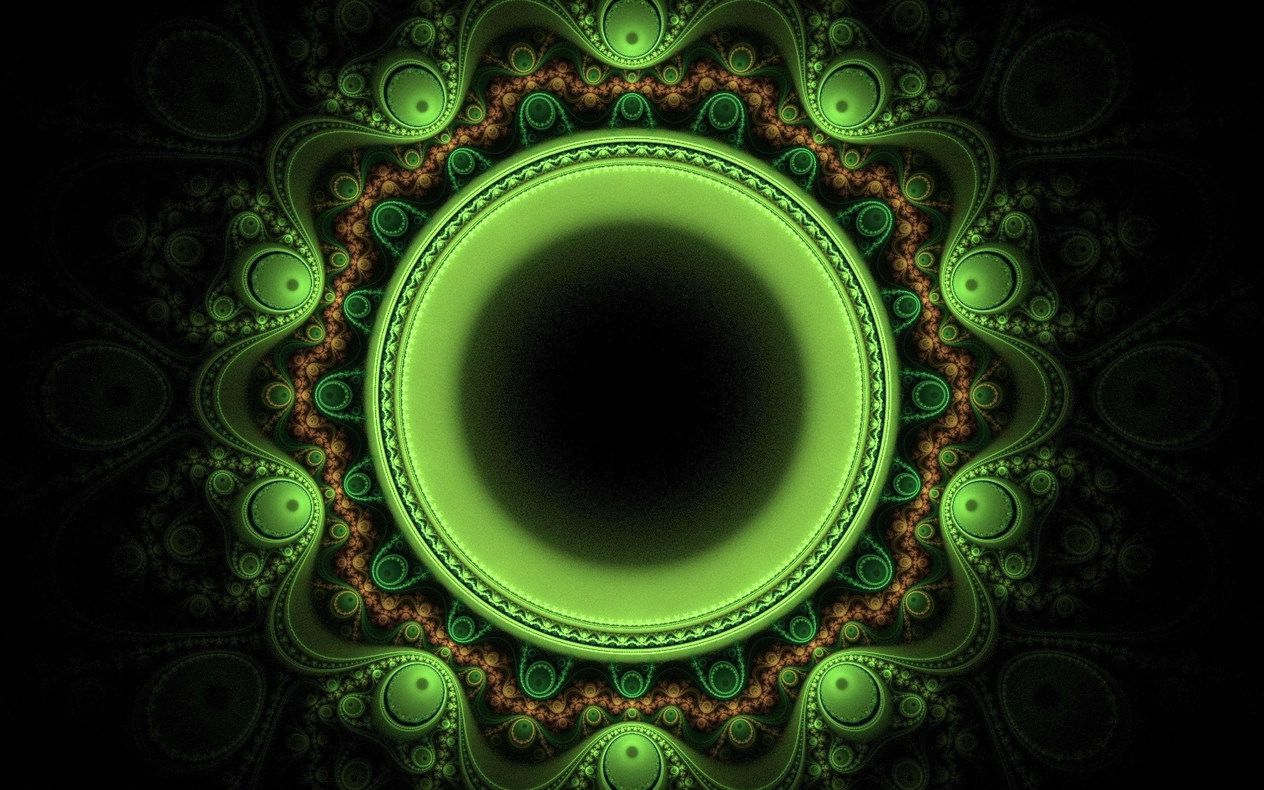 Спираль черная зеленая бесплатно